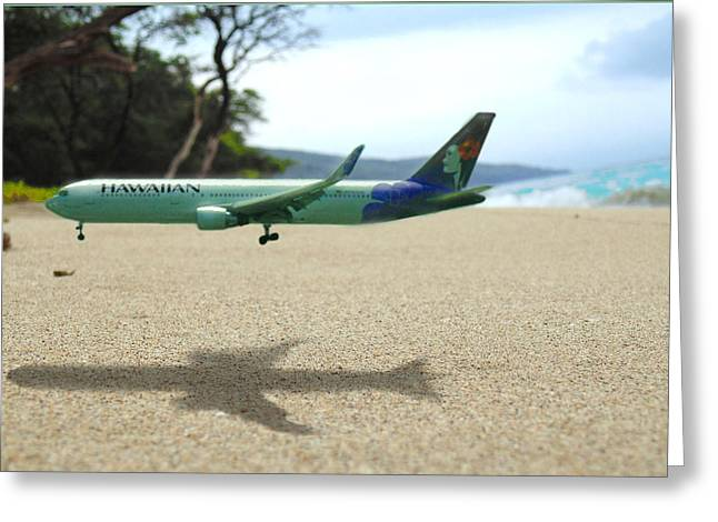 Commercial Photography Greeting Cards - Hawaiian Airlines Greeting Card by Marcello Cicchini