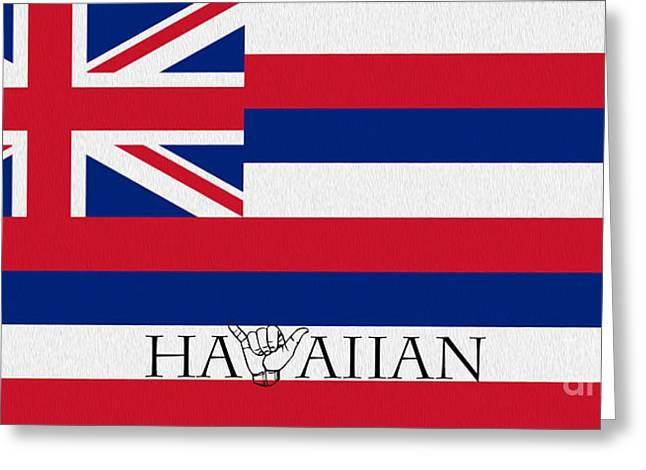 Niihau Hawaii Greeting Cards - Hawaiian Greeting Card by Cheryl Young
