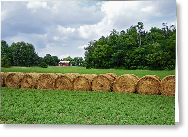 Hay Bales Greeting Cards - Hay Day Greeting Card by Steven  Michael