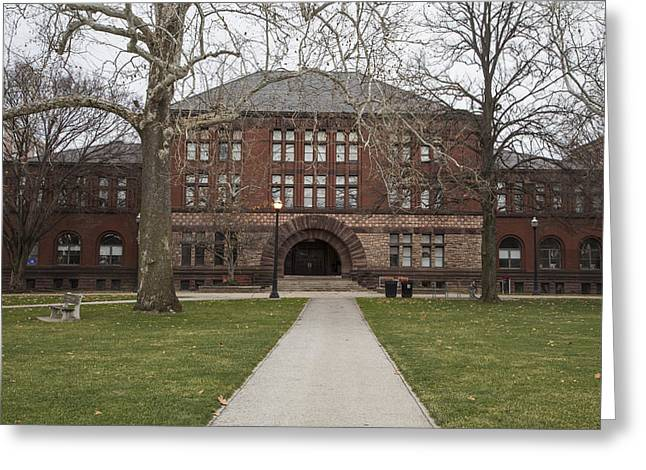 The Ohio State University Greeting Cards - Hayes Hall Ohio State  Greeting Card by John McGraw