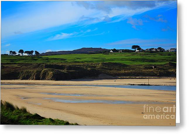 Hayle Estuary Cornwall Greeting Card by Louise Heusinkveld