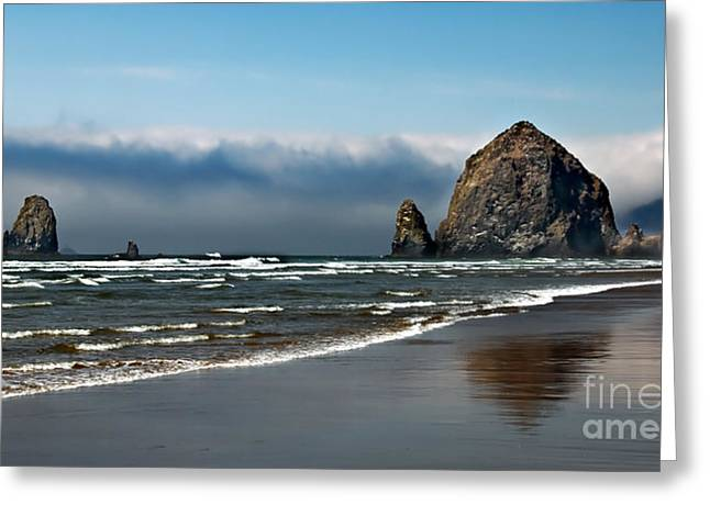 Seacape Greeting Cards - Haystack Greeting Card by Robert Bales