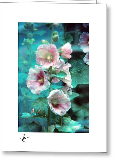 Photoshop Pastels Greeting Cards - Hayward Flower Garden Pastel Greeting Card by Mike Bernard