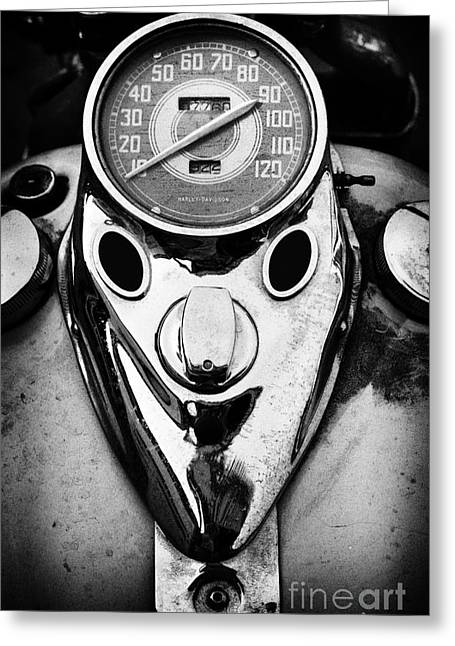 Speedometer Greeting Cards - Hd Mph Greeting Card by Tim Gainey
