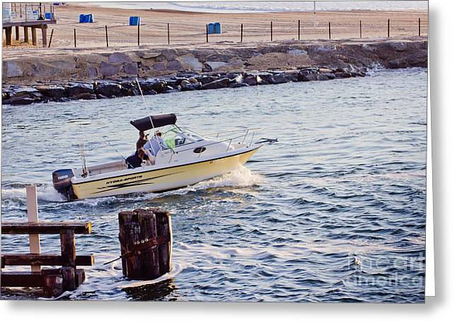 HDR Art Fishing Boat Boats Beach Beaches Ocean Sea Scenic Photos Pictures Photography Sell Pics Greeting Card by Pictures HDR