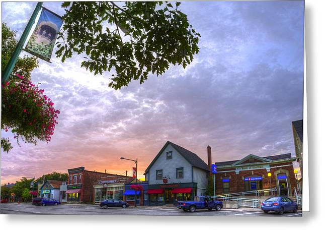 HDR Sussex Broad Street Sunset Greeting Card by Jamie Roach