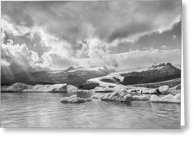 Photo Art Gallery Greeting Cards - He Sees Us  II Greeting Card by Jon Glaser