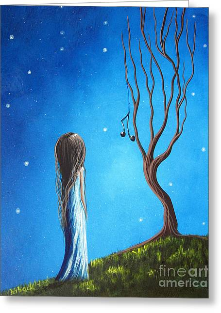 Hair Color Greeting Cards - He Still Loves Her by Shawna Erback Greeting Card by Shawna Erback