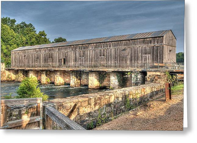 Dam Framed Prints Greeting Cards - Head Gate 2 Greeting Card by Todd Bennett