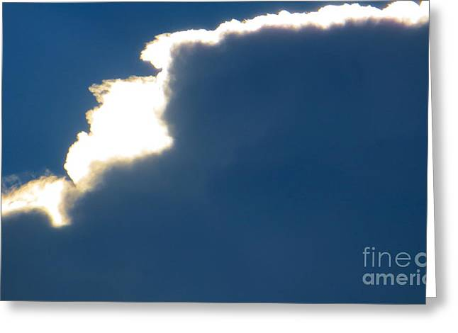 Fast Asleep Greeting Cards - Head in the Clouds Greeting Card by Joy Hardee