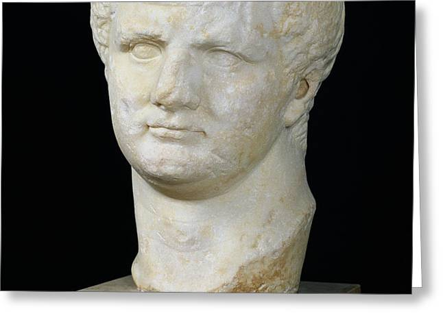 Head of Titus Greeting Card by Anonymous