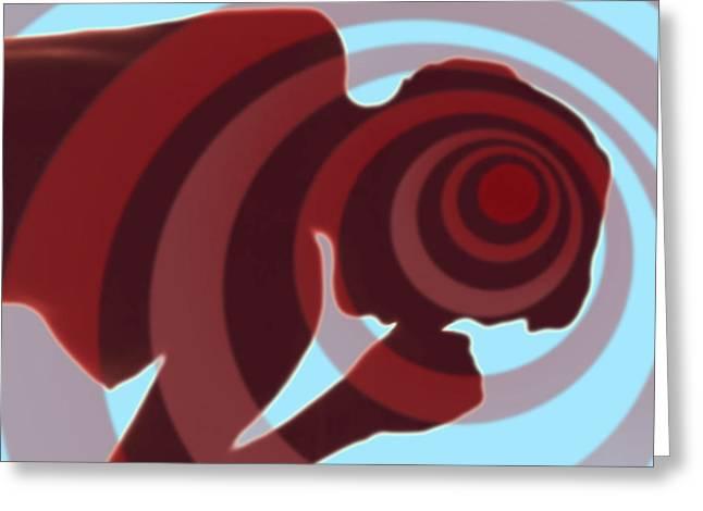 Headache Greeting Cards - Headache Greeting Card by Dennis Potokar