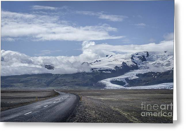 Glacial Greeting Cards - Heading North Greeting Card by Evelina Kremsdorf