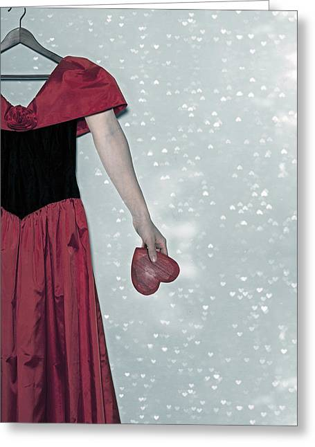 Coat Hanger Greeting Cards - Headless Love Greeting Card by Joana Kruse