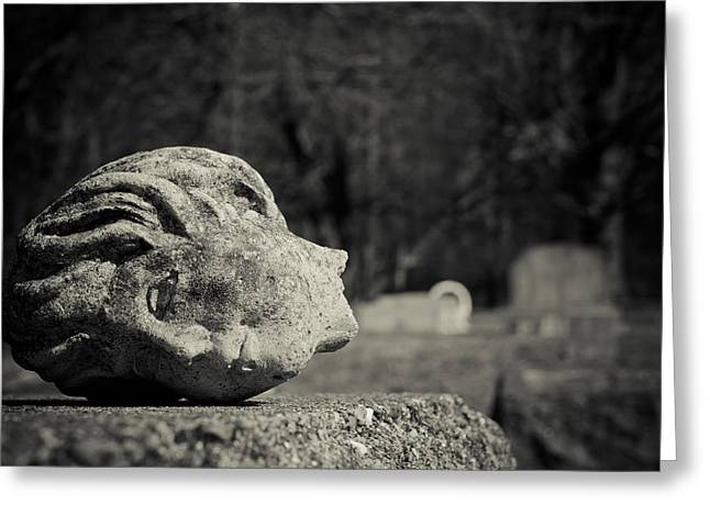 Headstones Greeting Cards - Headstone Greeting Card by Off The Beaten Path Photography - Andrew Alexander