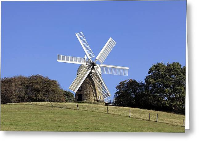 History Derbyshire Greeting Cards - Heage Windmill, Derbyshire Greeting Card by Science Photo Library