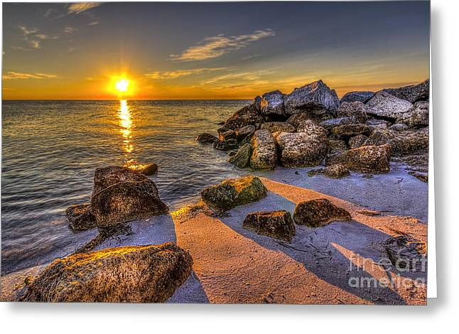 Gulf Greeting Cards - Healing Power Greeting Card by Marvin Spates