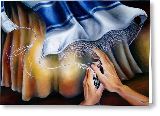 Praying Hands Greeting Cards - Healing Wings Greeting Card by Ruth Elizabeth