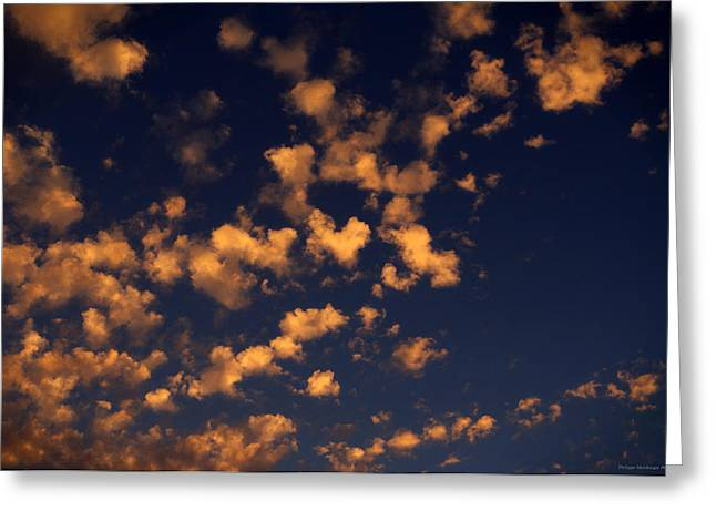 Himmel Greeting Cards - Heart in the sky Greeting Card by Philippe Meisburger