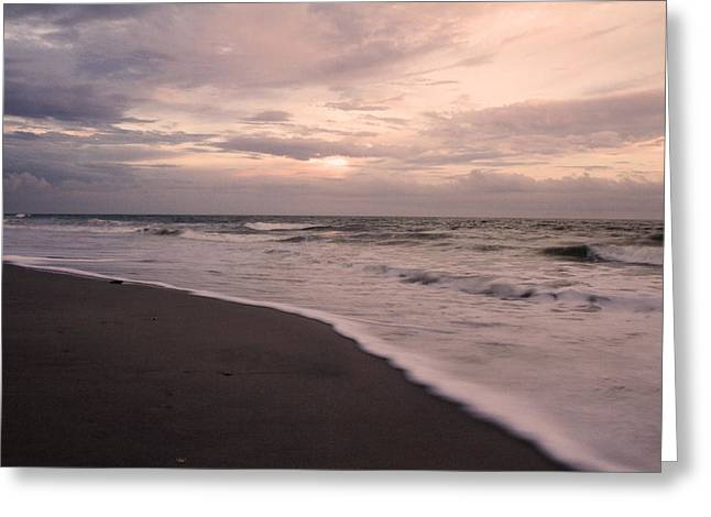 Topsail Island Greeting Cards - Heart of the Evening Greeting Card by Betsy C  Knapp