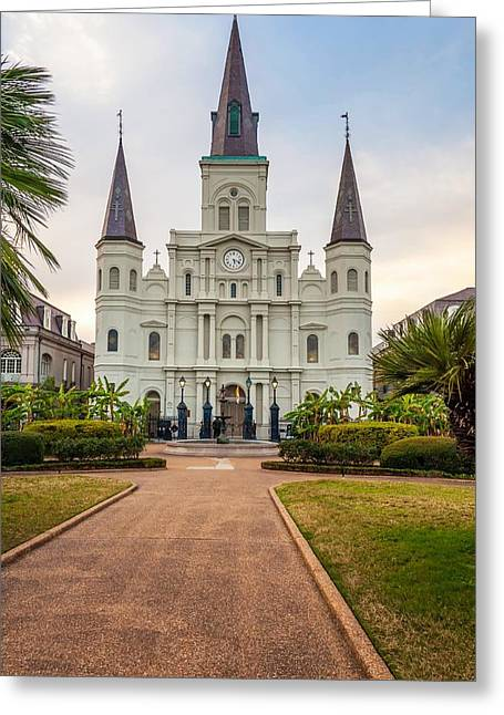 Steve Harrington Greeting Cards - Heart of the French Quarter Greeting Card by Steve Harrington