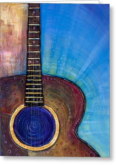 Heartfelt Greeting Cards - Heart Song Greeting Card by Tanielle Childers