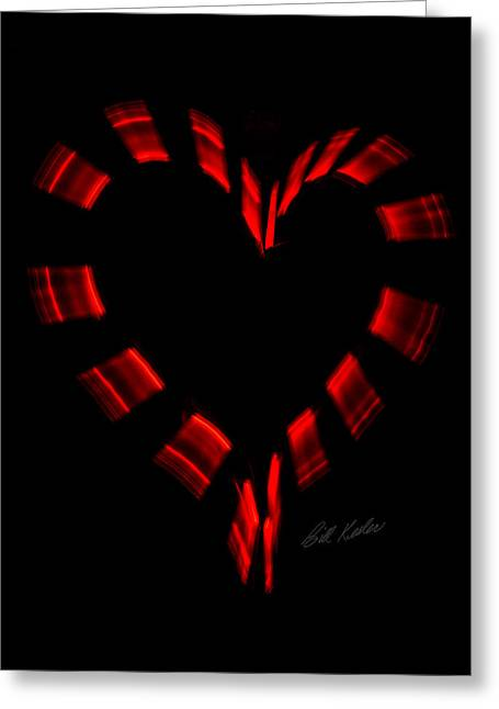 Bill Kesler Greeting Cards - Heartbeat Greeting Card by Bill Kesler