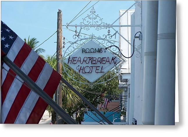 Heartbreak Hotel Greeting Cards - Heartbreak Hotel Greeting Card by Jeff Roney