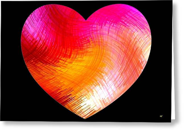 Heartline 6 Greeting Card by Will Borden