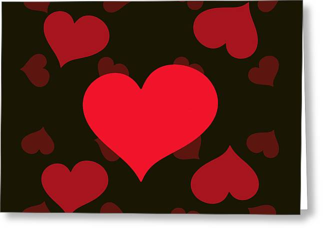 Romanovna Greeting Cards - Hearty Delight Greeting Card by Georgiana Romanovna
