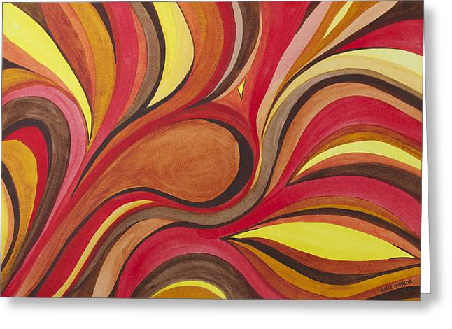 Heat Greeting Card by Julie Myers