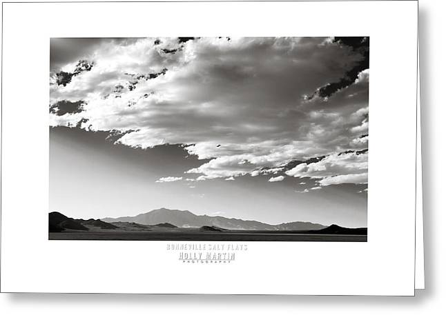 Bonneville Speed Week Greeting Cards - Heaven and Speed III Greeting Card by Holly Martin