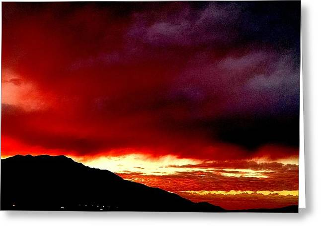 Landscape Greeting Cards - Heaven Greeting Card by Chris Tarpening