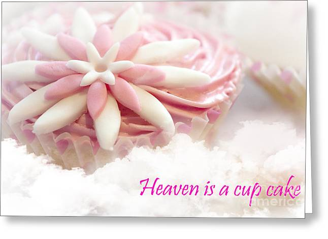 Terri Waters Greeting Cards - Heaven is a cupcake Greeting Card by Terri  Waters
