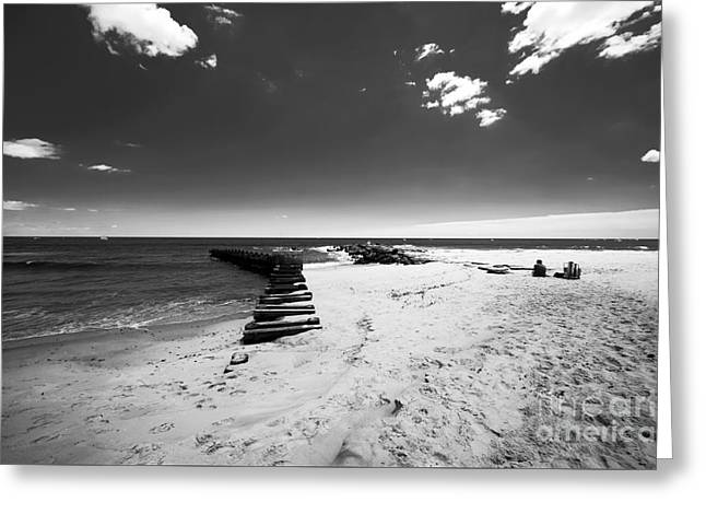 Recently Sold -  - Ocean Photography Greeting Cards - Heaven on Asbury  Greeting Card by John Rizzuto