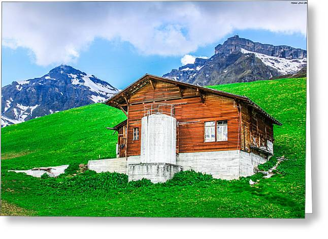 Murren Greeting Cards - Heaven on Earth - Switzerland Greeting Card by Mehul Dave