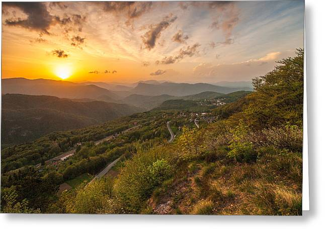 Warm Landscape Greeting Cards - Heaven on Earth Greeting Card by Davorin Mance