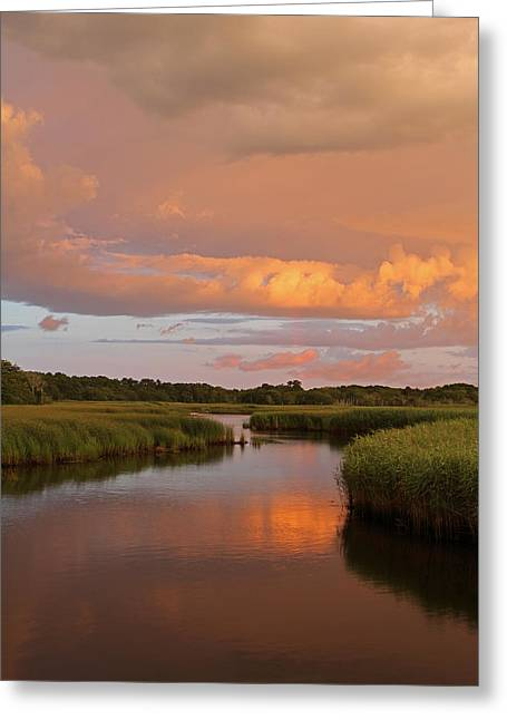 Storm Clouds Cape Cod Greeting Cards - Heaven on Earth Greeting Card by Juergen Roth