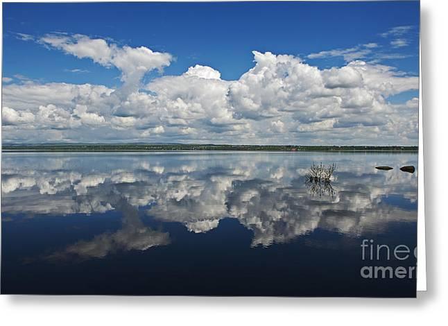 Festblues Greeting Cards - Heaven on Earth... Greeting Card by Nina Stavlund
