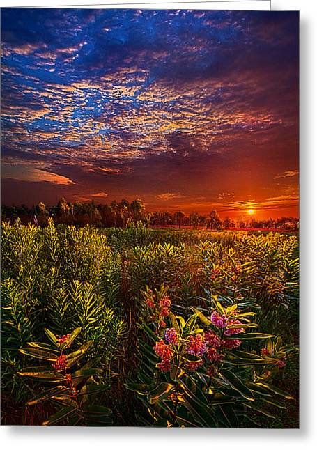 Twilight Greeting Cards - Heaven on Earth Greeting Card by Phil Koch