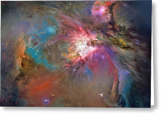 John Stewart Greeting Cards - Heavenly Activity  Greeting Card by John Norman Stewart