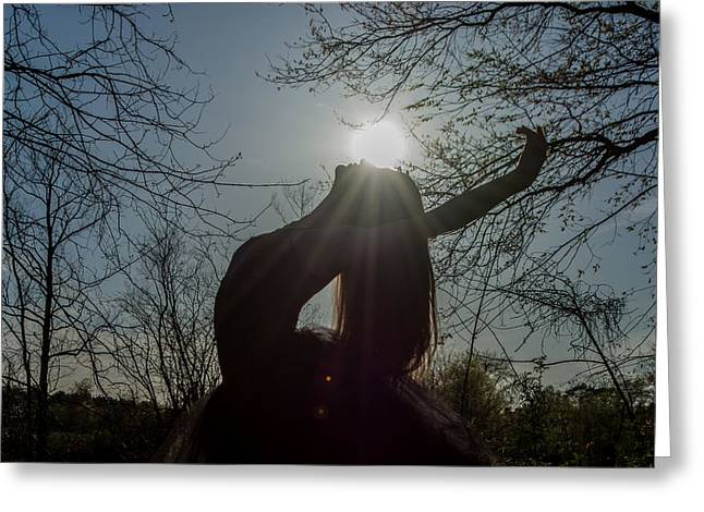 Ballet Dancers Photographs Greeting Cards - Heavenly Angel Greeting Card by Ryan Crane