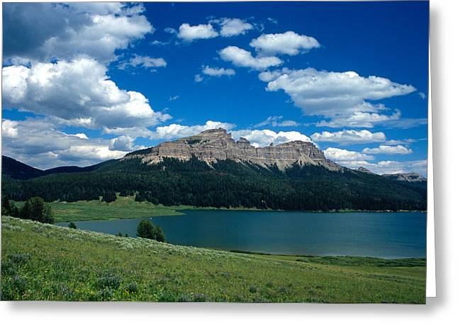 Lake Framed Prints Greeting Cards - Heavenly Day Greeting Card by Kathy Yates