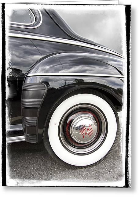 Black Trim Greeting Cards - Heavenly Ford Greeting Card by Debra and Dave Vanderlaan