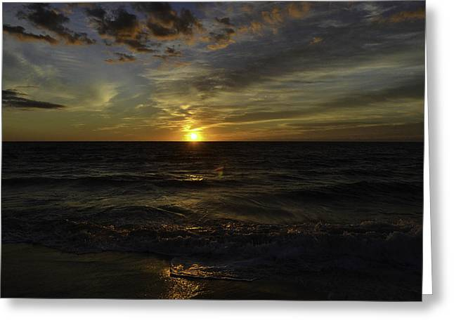 Para Surfing Greeting Cards - Heavenly Palette Greeting Card by Debra Bowers