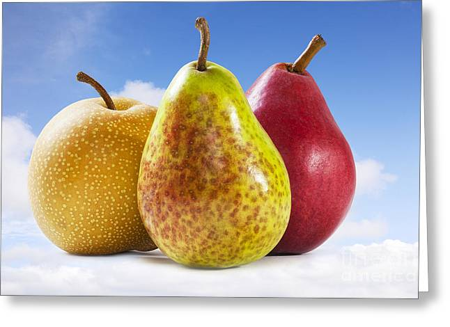 Pears Photographs Greeting Cards - Heavenly Pears Greeting Card by Colin and Linda McKie