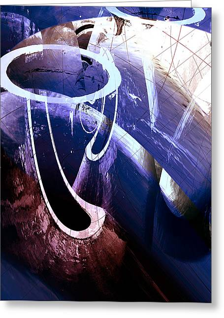 Richard Smukler Greeting Cards - Heavenly Greeting Card by Richard Smukler