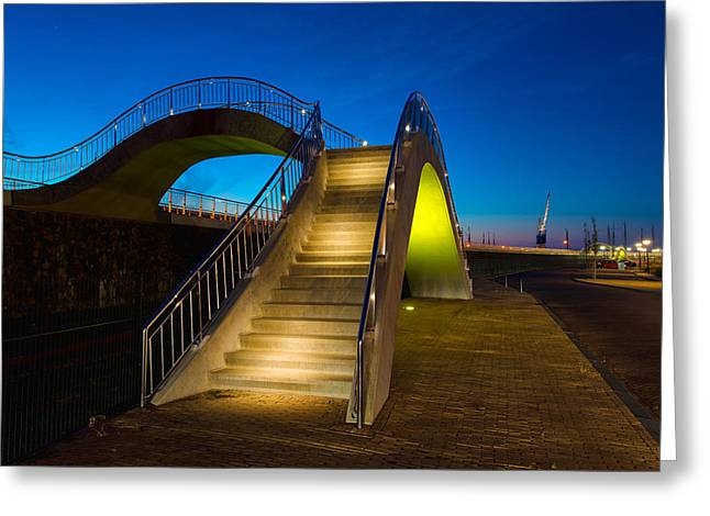 Heavenly Stairs Greeting Card by Chad Dutson