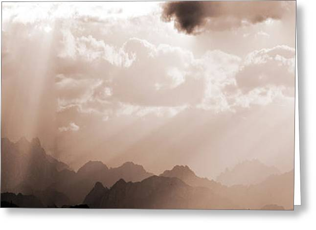 Jeremy Greeting Cards - Heavens Callings Greeting Card by Jez C Self