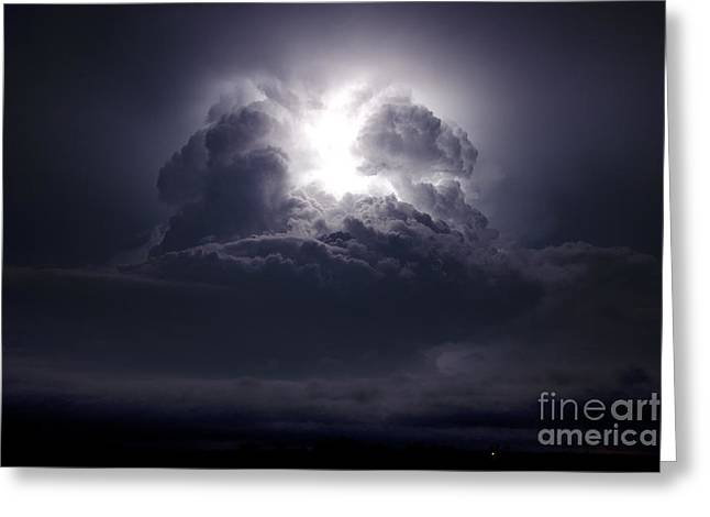 Lightning Photographer Greeting Cards - Heavens Doorstep Greeting Card by Ryan Smith